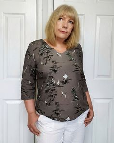 Sewing A 'Block' : Sew Over It Whitley Top Sew Over It, Basic Tops, Easy Wear, Sewing For Beginners, Top Pattern, Top Tags, New Look, Sewing Patterns, Lady