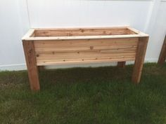 Elevated Planter Raised Bed - Elevated Planter Raised Bed : 5 Steps (with Pictures) – Instructables - Elevated Planter Box, Raised Garden Planters, Planter Box Plans, Raised Planter Boxes, Elevated Garden Beds, Raised Garden Bed Plans, Vegetable Planters, Planter Beds, Garden Planter Boxes