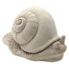 Carruth Garden Friends Statue Gertrude Snail ** To view further for this item, visit the image link. (This is an affiliate link) Pottery Animals, Ceramic Animals, Clay Animals, Ceramic Art, Pottery Sculpture, Sculpture Clay, Snail Art, Sculptures Céramiques, Garden Sculptures