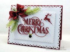 Merry Christmas and Pine - KittieKraft