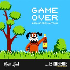 ToniCol Game Over
