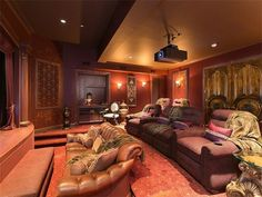 Home theater in  Middletown, New Jersey