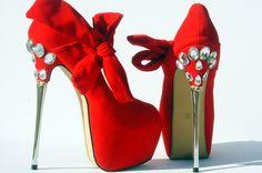 Open Toe Bow Pumps Stilettos Heels