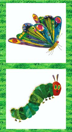 Be Sew Happy Quilt Shop - The Very Hungry Caterpillar Encore by Eric Carle Panel Multi, $7.25 (http://www.besewhappy.com/products/The-Very-Hungry-Caterpillar-Encore-by-Eric-Carle-Panel-Multi.html)