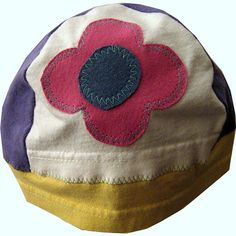 Upcycled T-Shirt Hat by OneWomanStudio, via Flickr