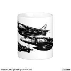 Harrier Jet Fighters Basic White Mug