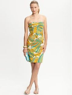 Trina Turk Pisces strapless dress