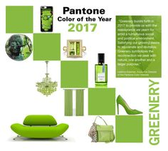 """Pantone Greenery"" by giselsimon ❤ liked on Polyvore featuring Hadaki, Casetify and Waverly"