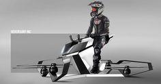 Startup russa desenvolve a hoverbike uma moto que voa: funcionando a partir de propulsão elétrica o Scorpion 3 combina assento de motocicleta com tecnologia de drone proporcionando viagens com velocidade e estabilidade de voo. Veja todos os detalhes e um vídeo dessa nova criação no blog  http://ift.tt/1IJoGoo