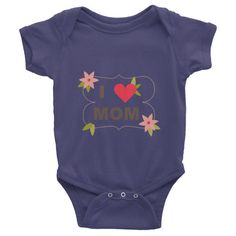 This short-sleeve baby onesie is soft, comfortable, and made of 100% cotton. It's designed to fit infants of all sizes, with a rib knit to give good stretch and a neckband ...