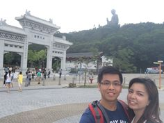 We just so love the cool and gloomy weather at Lantau!