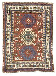 Kazah medallion carpet, Caucasian