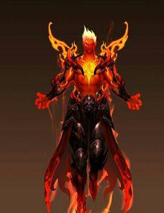 Fire lorde elemental