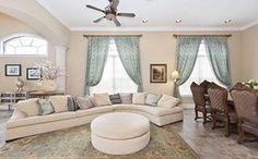 Vacation rentals available for short and long term stay on HomeAway. Florida Villas, Ideal Home, Couch, Vacation, Furniture, Dining, Home Decor, Ideas, Ideal House
