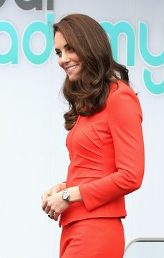 Kate Middleton Photos Photos - Catherine, Duchess of Cambridge departs after attending the official opening of The Global Academy in support of Heads Together at The Global Academy on April 20, 2017 in Hayes, England. The Global Academy is a state school founded and operated by Global, The Media