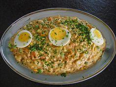 Russischer Salat auf spanische Art, ein schmackhaftes Rezept aus der Kategorie Gemüse. Bewertungen: 10. Durchschnitt: Ø 3,8.