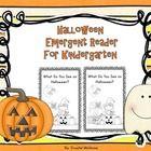 Free! Halloween Emergent Reader