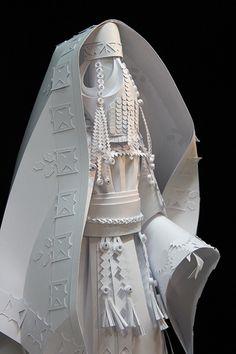 Asya Kozina Ethnic wedding dress. Palestine