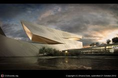 CGTalk - Dalian Library Competition, Shane Dale (3D)
