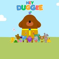 Hey Duggee my grandson and I LOVE this show 💚 4th Birthday, Birthday Parties, Illustrators, Color Schemes, Birthdays, Cartoons, Party Ideas, Football, My Love