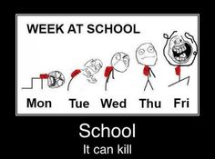 Funny stuff about School