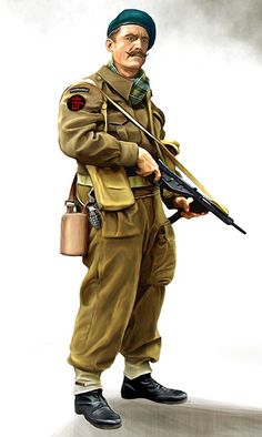 「British Commandos WW2 Uniform」の画像検索結果