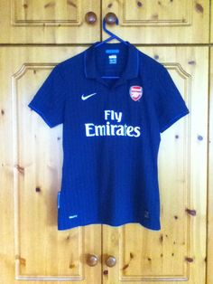 6601e8fecf6 Arsenal Football Club Away Jersey 2009 to 2010 Childrens Large Sami 69  Soccer #Nike