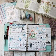Creative Pages by amaryllis775: Filofaxing / Wildflower