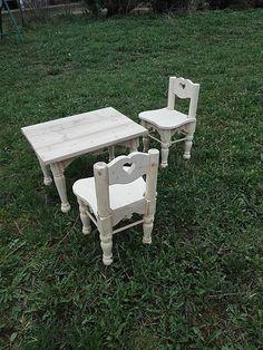 LadislavKurnota / Stôl + 2 detské stoličky Stool, Furniture, Home Decor, Decoration Home, Room Decor, Home Furnishings, Home Interior Design, Home Decoration, Interior Design