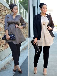 Casual elegant attire to inspire some work fashion casually Curvy Girl Fashion, Work Fashion, Plus Size Fashion, Fashion Outfits, Casual Elegant Attire, Plus Size Dresses, Plus Size Outfits, Moda Xl, Look Plus Size