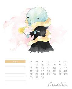 Sí, ya estamos en junio, pero eso no impide que aprovechemos y tengamos un nuevo calendario, más si es de Harry Potter (y gratis). Este calendario presenta unos bellos dibujos de los personajes de …