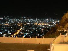 India, uitzicht vanaf het fort  Thema augustus: vakantie, reizen