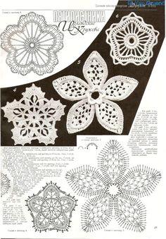 Gallery.ru / Foto # 9 - Motive für irische Spitze - angebaltik Irish crochet motifs