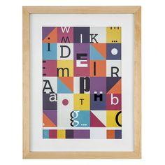 Cuadro Decorativo Letras - Cuadros y murales - Estar - Casaideas