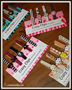 Cheap Craft with wooden clothespins. nice gift. useful too - chip clip,  attach magnet for fridge clip - even a gift label clip