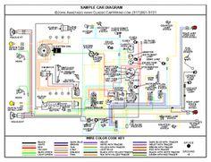 1964 Chevy Truck Color Wiring Diagram 1990 Honda Accord 22 Best 64 Novas Images Nova Car Tuning Custom Cars 2 11x17 Laminated Full Ebay