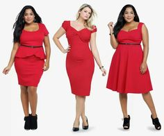 Bbw fashion Curves  swag  Big curvy ladies / women bbw / nice curves..cute / love / sexy Ladies / woman fashion styles. Super love it!! Awesome! Red!