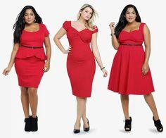 Bbw fashion Curves  swag  Big curvy ladies / women bbw / nice curves..cute / love / sexy Ladies / woman fashion styles. Super love it!! Awesome! Red!