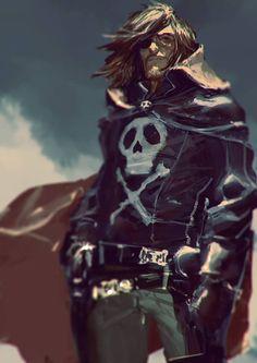 Cp Harlock. ✤ || CHARACTER DESIGN REFERENCES | キャラクターデザイン | çizgi film • Find…