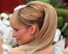 Nicole Richie's Golden Globe hair