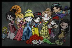 dark disney artwork     Which Evil princess are you?