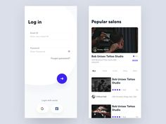 Great work from a designer in the Dribbble community; your best resource to discover and connect with designers worldwide. Web Design, Website Design Layout, App Ui Design, Web Layout, User Interface Design, Class Design, Mobile Login, Mobile App, Android App Design