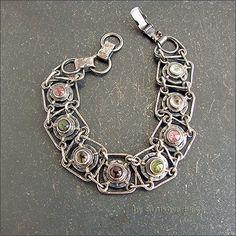 Bracelet with tourmaline - Strukova Elena - author decorations