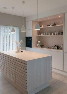 Open Plan Kitchen Living Room, Kitchen Room Design, Kitchen Dinning, Family Kitchen, New Kitchen, Kitchen Decor, Bathroom Inspiration, Kitchen Furniture, Home Kitchens