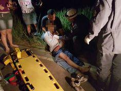 Cavalo na pista provoca acidente na estrada de Vermelho na Zona da Mata