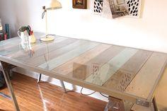 Como fazer uma mesa de pallet estilosa e bonita