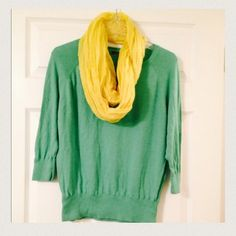 Classy, very soft nice top Special Very soft lightweight sweater.  Only wore top 1 time -Excelllent Condition! 525 America  Tops