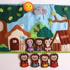 Sün Balázs- interaktív ujjbáb készlet játszópaddal (Azonnal vihető!), Baba-mama-gyerek, Játék, Készségfejlesztő játék, Báb, Varrás, Meska Felt Quiet Books, Busy Book, Finger Puppets, Gingerbread Cookies, Sewing Projects, Kids Rugs, Crafty, Christmas Ornaments, Holiday Decor