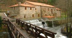 O Muiño de Pena. O Pino. (A Coruña). Galicia. Spain Take Me Home, Sorrento, Terra, Garden Bridge, Europe, Outdoor Structures, Mansions, House Styles, Travel
