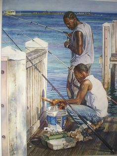 Watercolor painter Dwight Hoffman City: Pompano...